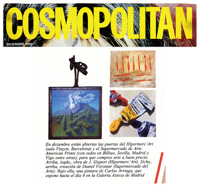 Carlos Arriaga en Cosmopolitan 1999