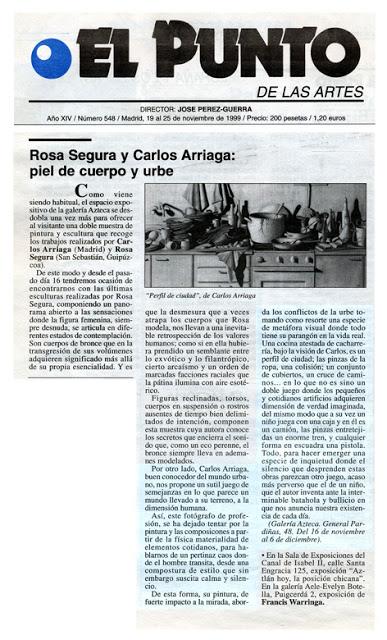 Carlos Arriaga el punto 1999