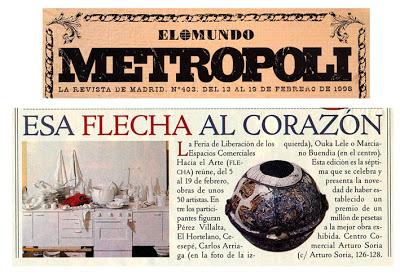 Carlos Arriaga en el Mundo Metropoli 1998