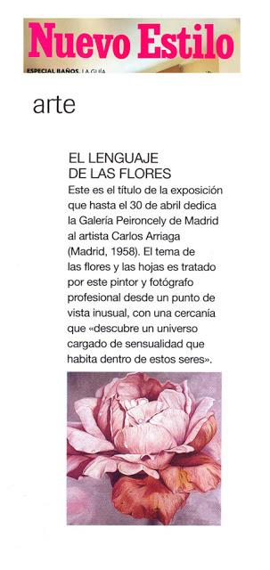 Carlos Arriaga en nuevo estilo 2003