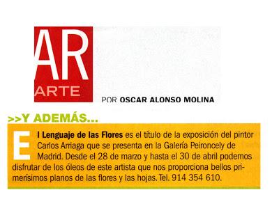 Carlos Arriaga en revista AR 2003